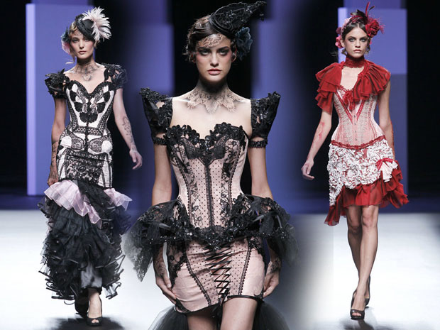 Bibian Blue: Highlight der Barcelona Fashion Week 2010