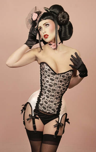 pr t a porter corsets from morgana femme couture. Black Bedroom Furniture Sets. Home Design Ideas
