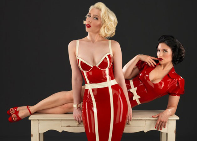 Red Alert! Inner Sanctums new Latex Collection