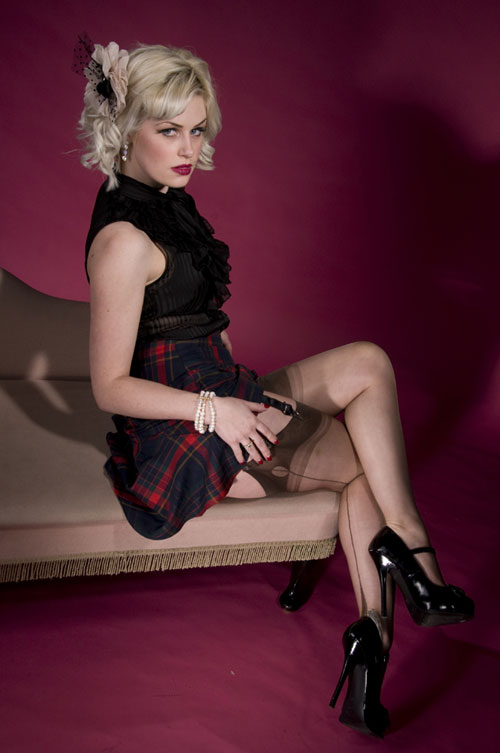 Original vintage fashioned Nylons for Pin Ups   Burlesque