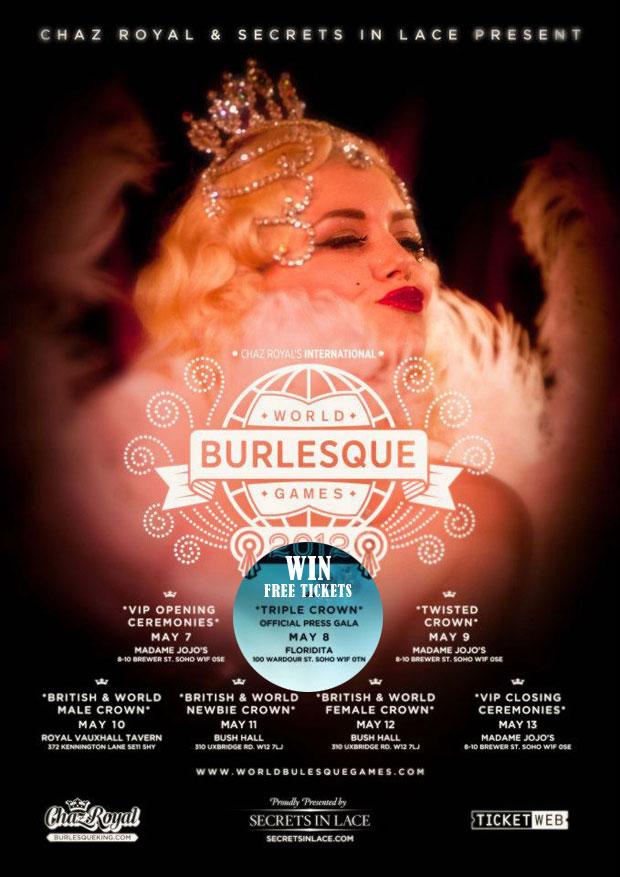 Die Spiele sind eröffnet – Frei Tickets für World Burlesque Games 2012