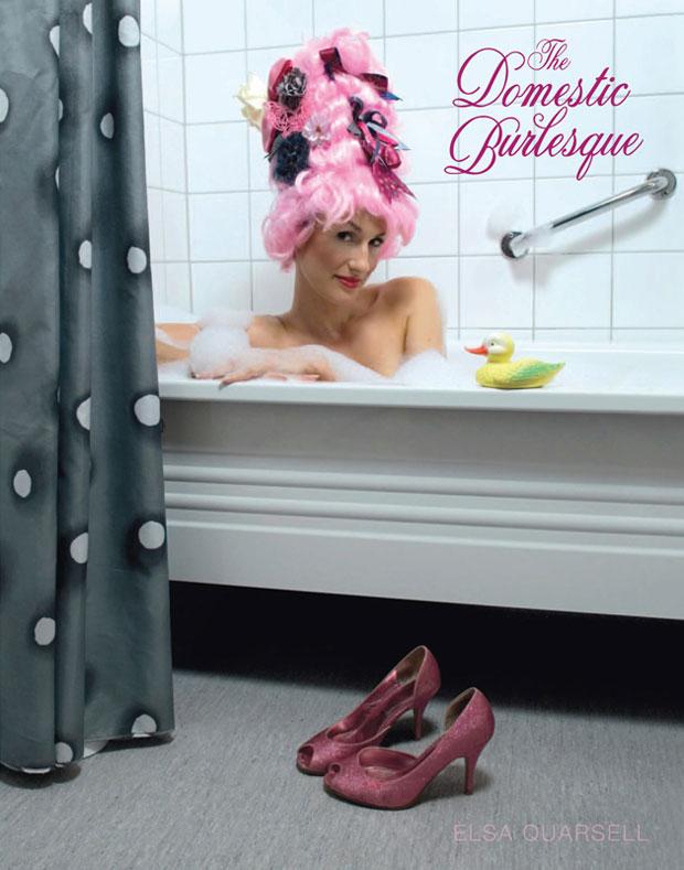 Domestic Burlesque-Buch Premiere auf Pinky's Peepshow Berlin