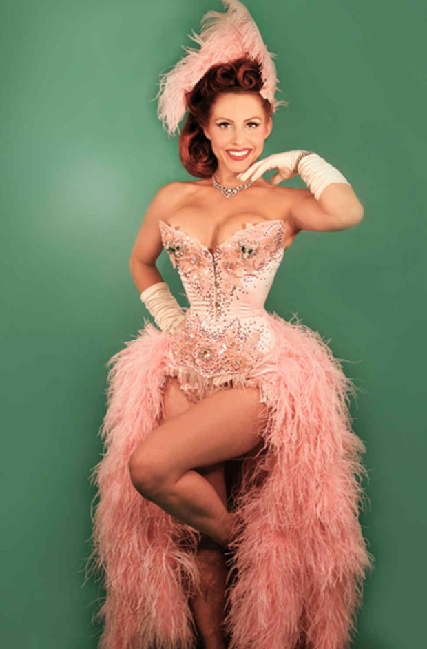 Garo Sparo Burlesque costumes from New York