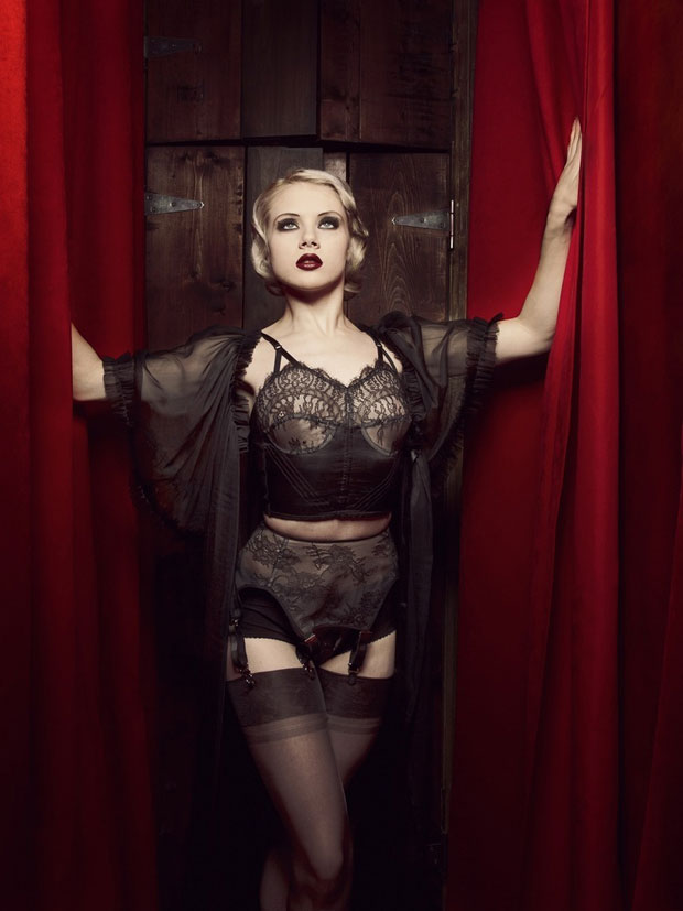 5609643aa69 Burlesque and pin-up inspired lingerie from Dotties Delight ...