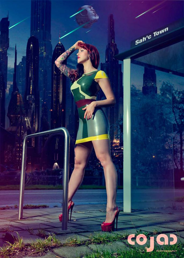 Shhh! Couture Latex – perfect style not only for super heroes